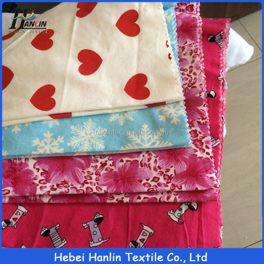 2016 New products wholesale flannel fabric children's sleepwear fabric buy direct from china factory