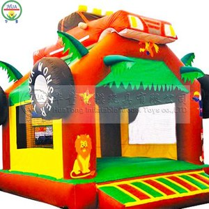 Inflatable Animal Bouncer Body Bouncer Castle Jumping Toys