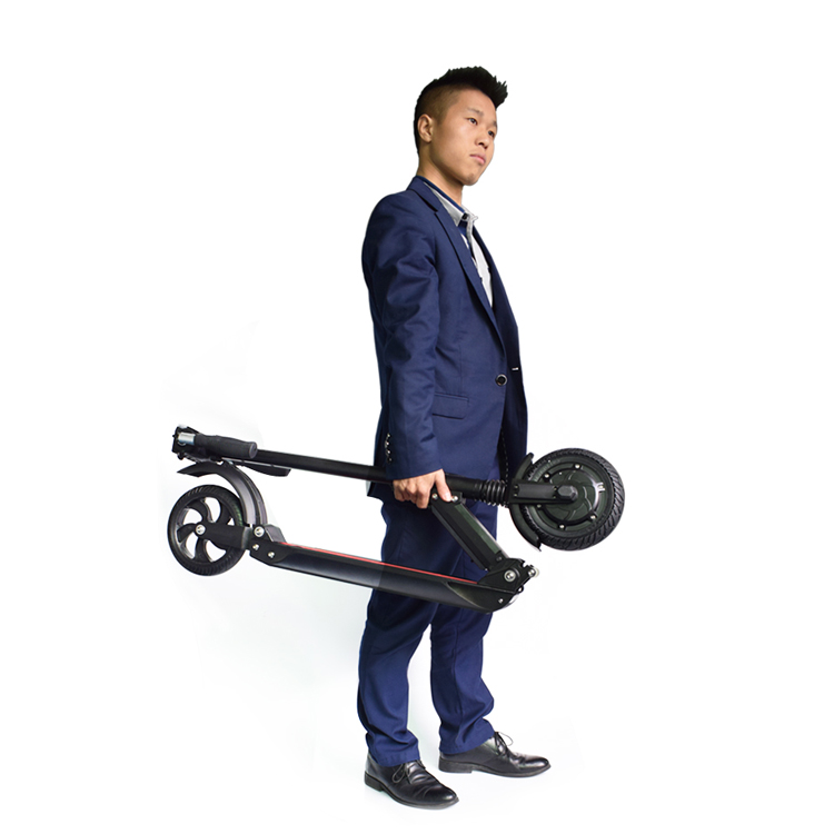 Europe warehouse 6.5 inch wheel motor 250W electric kick scooter foldable e-scooter for sale