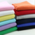 2017 new design 16*21+70D 95% cotton 5% lycra solid dyed cotton spandex fabric for baby clothing