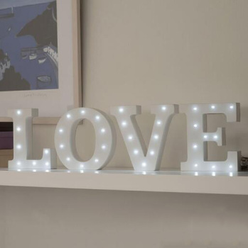 mdf white wooden letterwooden letters with led for wedding decoration buy white wooden lettermdf letterswooden letters wedding product on alibabacom