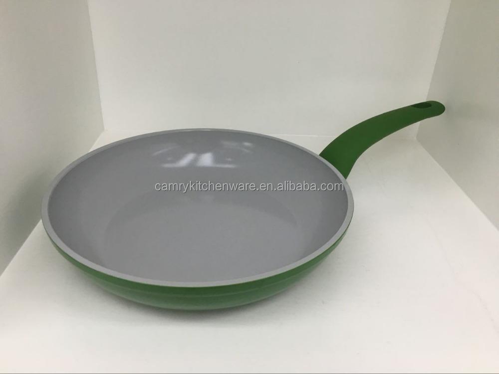 Forged Aluminum Ceramic Fry Pan for Induction Cooking