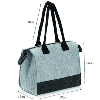 High Performance Whole Fitness Felt Insulated Bags For Food Transport
