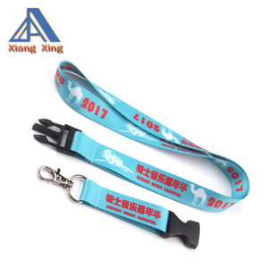 Soft Printed ID Neck Lanyard Wholesale polyester neck lanyard
