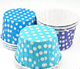 PET film waterproof paper muffin cupcake cup for cake and ice cream