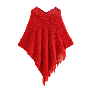 Women New Oversize Winter Acrylic Wrap Shawl