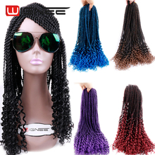 20'' Synthetic Senegalese Twist Crochet Braids Hair Extensions 100g Havana Mambo Twist Crochet Braid Wholesale