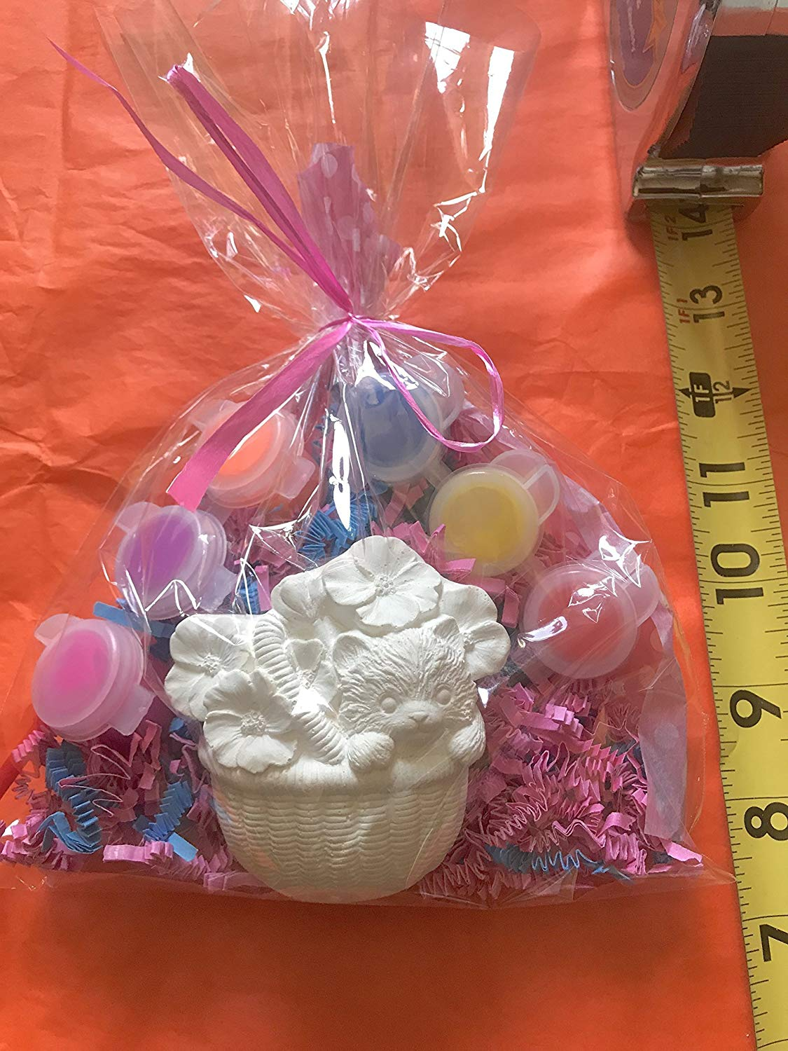 10 Hello kitty party favors, kitten, girls party favors to paint. Creative.Price per 10 bags.