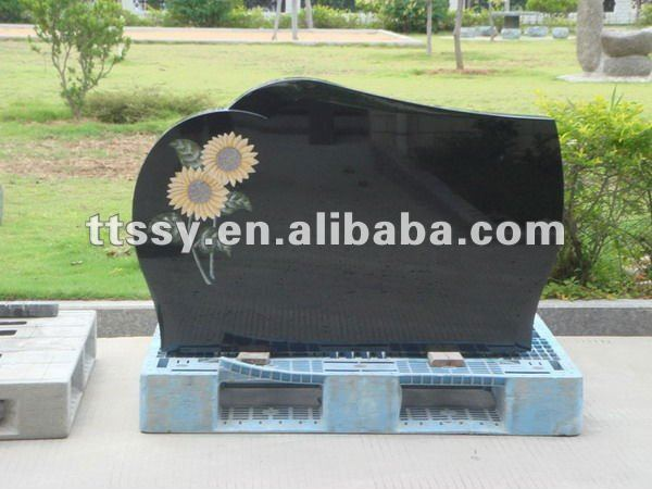 China black granite memorial monument