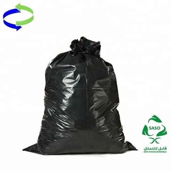 High Quality 50 Gallon Plastic Garbage Bag And Hot 55 Trash Bags