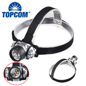 Nylon Band Headlight Adjust Strap LED Head Torch Light For Walking, Running , Camping