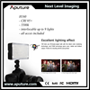 Aputure H160 Dimmable video shooting CRI 95+ camera on top led lights