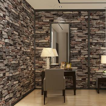 3D Brick Wall Paper Interiror Modern Wallpaper For Decor