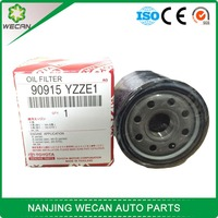 auto parts top quality oil filter 90915 YZZE1 for toyota