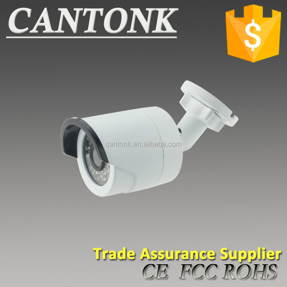 Cantonk 100% OEM IP Camera H.264/H.265 High-resolution home security camera freeip p2p poe Cantonk video bullet outdoor camera