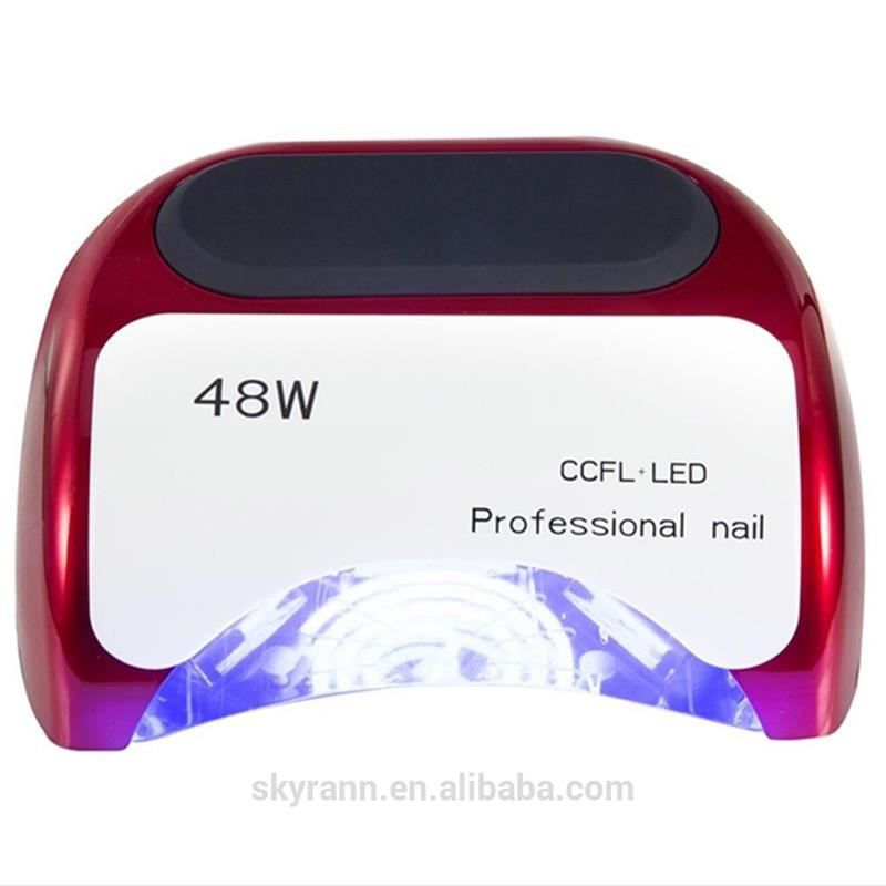 Factory directly production 48w nail dryer station cheapest price offered finger uv led gel lamp