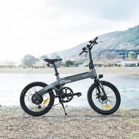 Xiaomi HIMO C20 foldable electric bicycle 36v10ah 250w DC motor city ebike Lightweight electric assist bike Pas range 80km