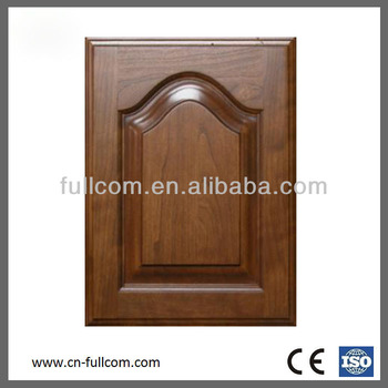 Cathedral Designed Solid Cherry Wood Kitchen Cabinet Door