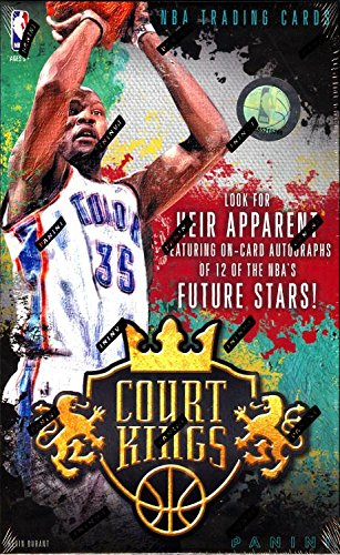 2014/15 Panini Court Kings Basketball Hobby Box (1 pack/box, 10 cards/pack, 1 Autograph and 1 Memorabilia Card) - In Stock
