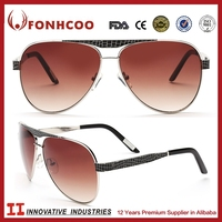 FONHCOO Cheap Items To Sell OEM Custom Metal Logo Polish All Brand Sunglass