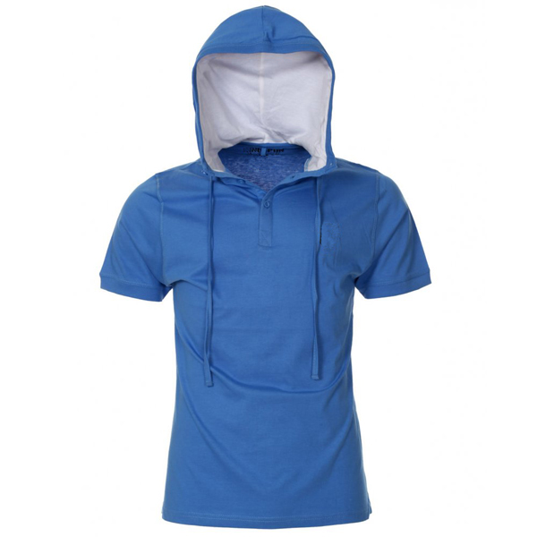 Boys Short Sleeve Hoodies T Shirt With Hood - Buy Short Sleeve ...