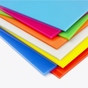 Factory Price Perspex Cast Plastic Material Sheet Thin Colour Cast Acrylic Sheet