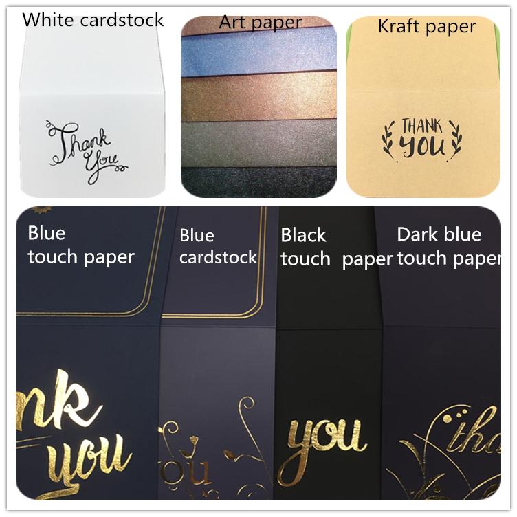 Carte regalo di compleanno del commercio all'ingrosso di colore del fumetto sveglio carta di compleanno