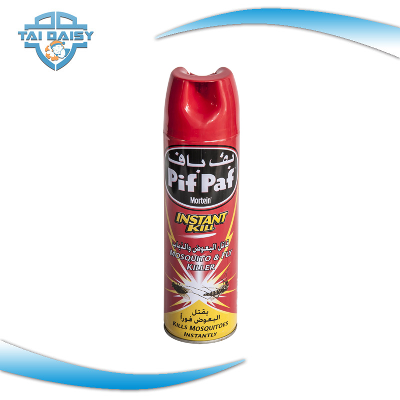 400ml Oil-Based Permethrin Powdful Flying Insecticide Aerosol Spray Hot Sell In Africa