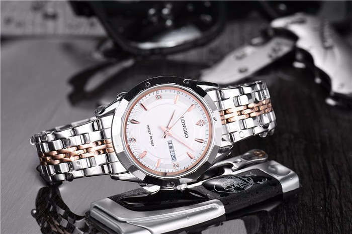 LongBo watches men seikoing sport Side-wrapped stainless steel band watch for men and women