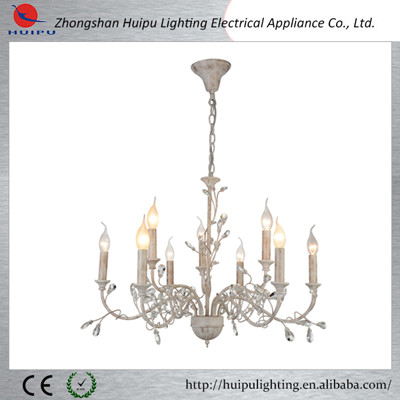 Modern retro luxury lamp wholesale crystal chandelier home light for hotel living and dining room