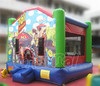 PVC tarpaulin inflatable bouncer castle playground jumper for kids