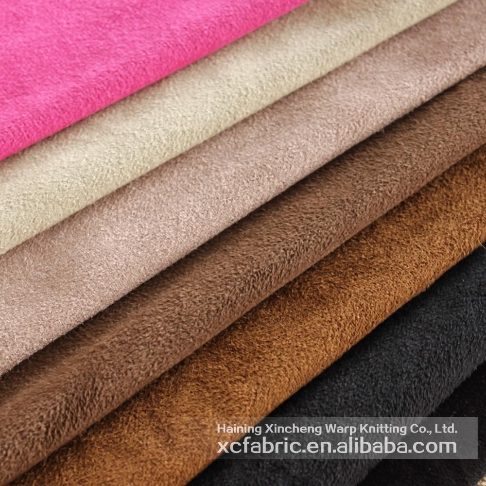 100 Polyester Bross En Daim Tissu D 39 Ameublement Pour