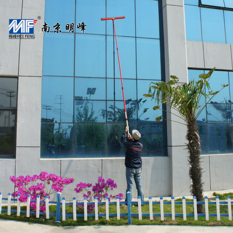 FRP/GRP telescopic poles with fittings