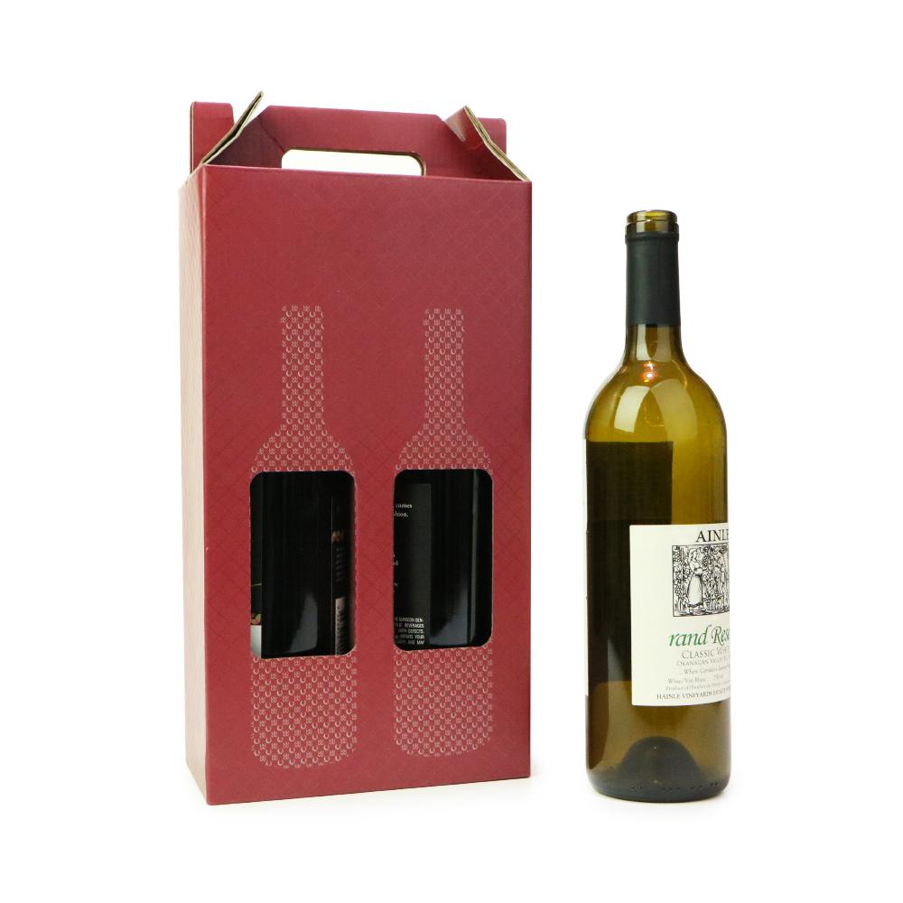 Di colore completo di stampa 6 pacchetto scatole di bottiglie di vino