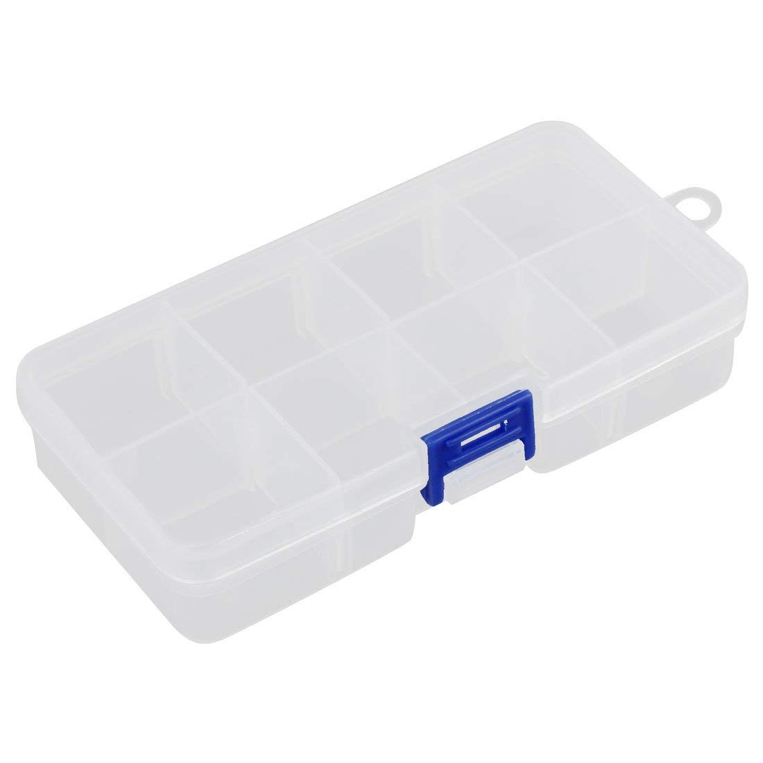Aexit Plastic 8 Tool Organizers Separable Compartments Electronic Components Tool Boxes Storage Box