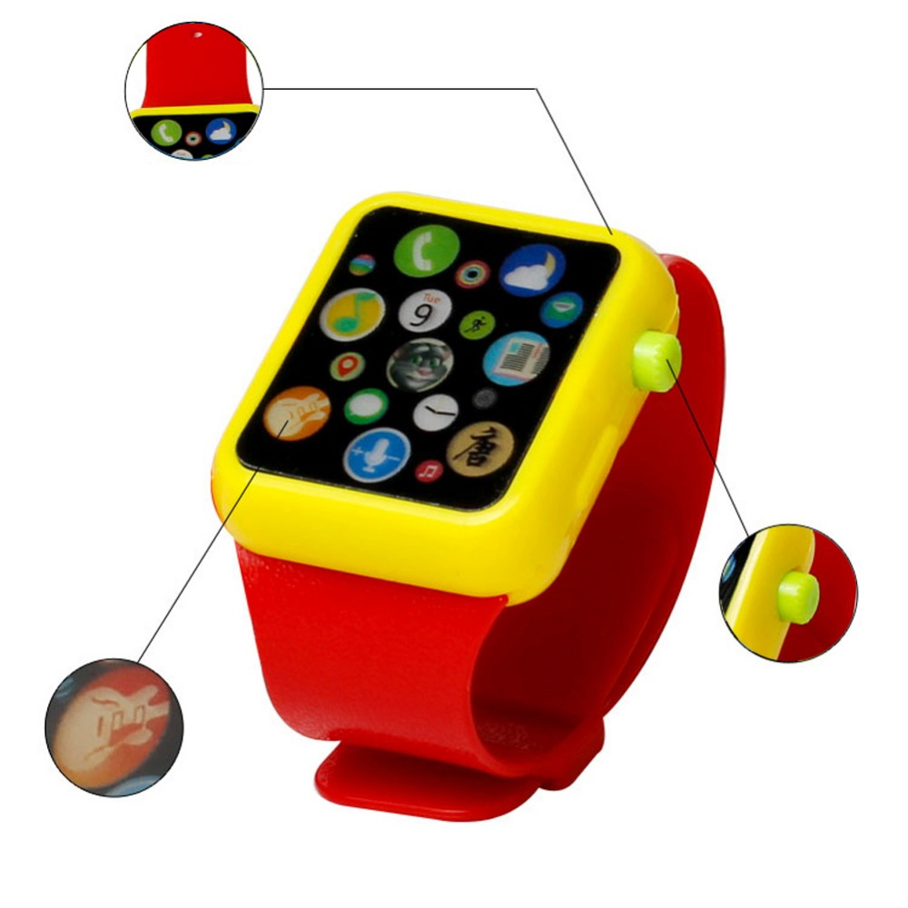 Kids Children Smart Watch Early Education 3D Touch Screen ...