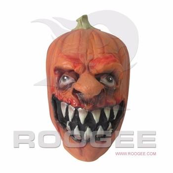 Terror Halloween Cabeza De Calabaza Mscara Accourement Partido