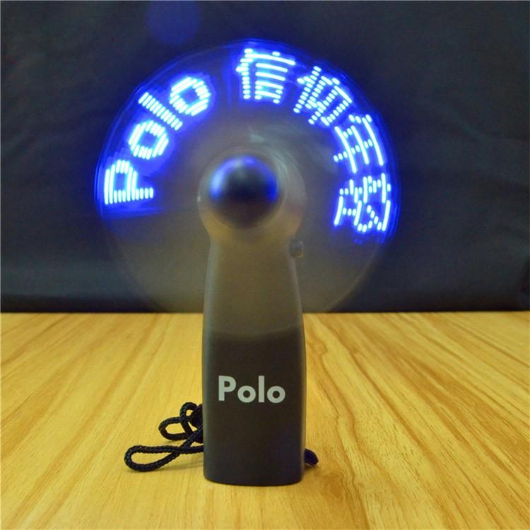 New Brand Self Programmable Mini Led Fan Glovion Custom