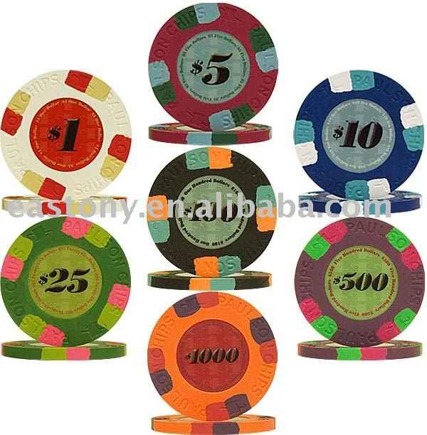 Real clay casino poker chips oklahoma casinos gambling age 18