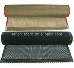 Most professional teflon coated fiberglass mesh UV dryer conveyor belts for textile silk screen printing machine