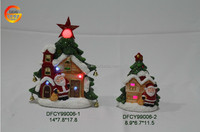 ceramic Christmas village house with LED