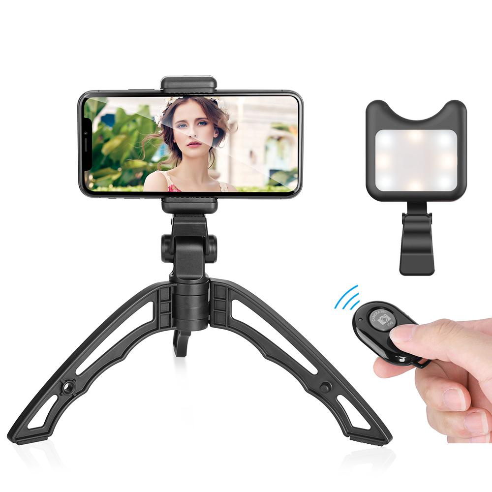 2018 new release HOSHI-TRI Multi-directional tripod adjustable handheld grip foldable portable tripod