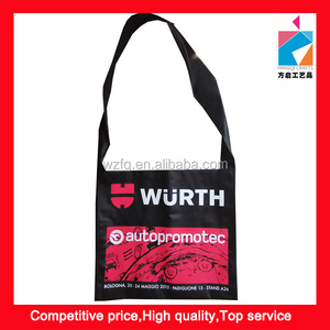 Promotion TNT Non Woven Shoulder Long Strip Bag
