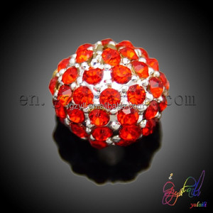 New coming Alibaba rhinestone crystal round beads