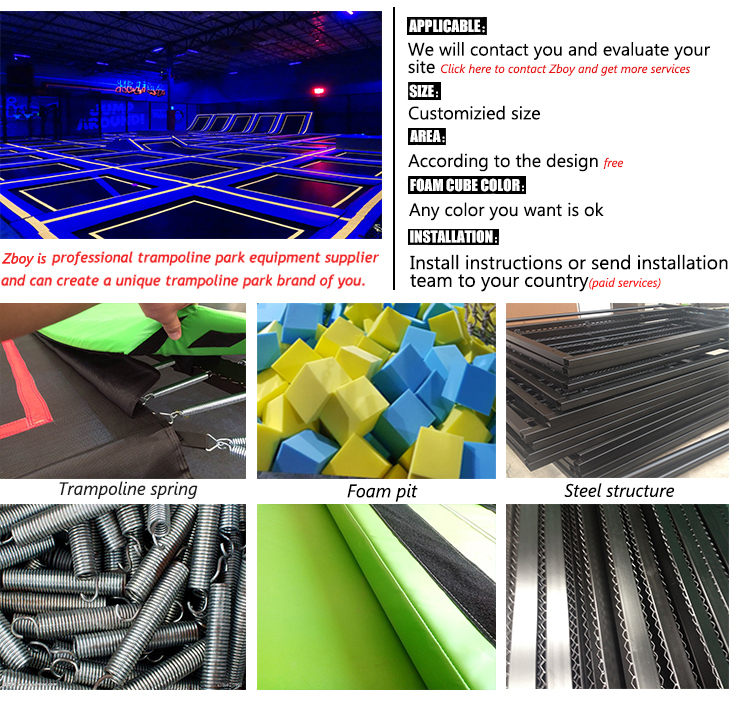 China Wholesale Newest Design Indoor Trampoline Park And