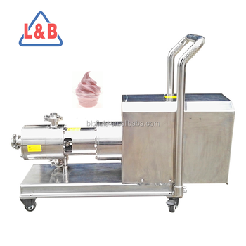 Pipeline Industrial Milk Ice Cream Homogenizers