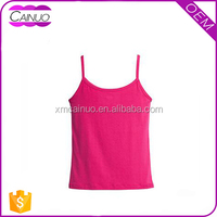 Fashion women sports spaghetti strap gym tank tops in stock