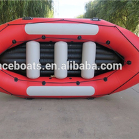 2017 HOT SALE Durable quality New Arrival CE Inflatable river Raft Boat PVC material inflatable drifting boat raft boat