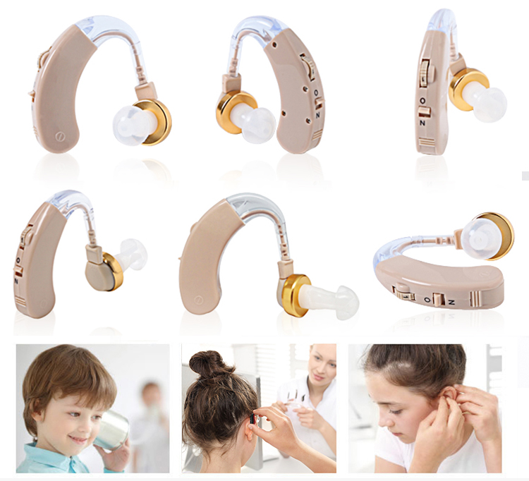 Bte Digital Hearing Aids Sound Amplifier For Hearing Loss Deaf Adults Old Man hearing aid