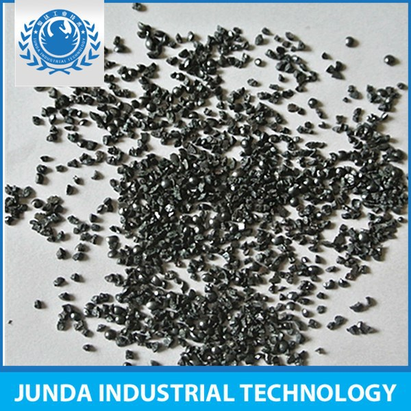 Good hardness steel grit G40 used for improving body section sand blasting efficiency